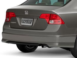 Rear Underbody Spoiler Civic 265 37