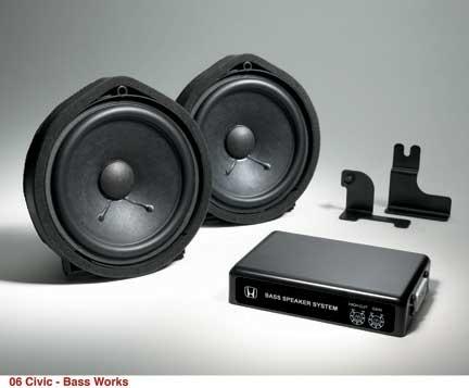 Bass System Kit Civic 272 51