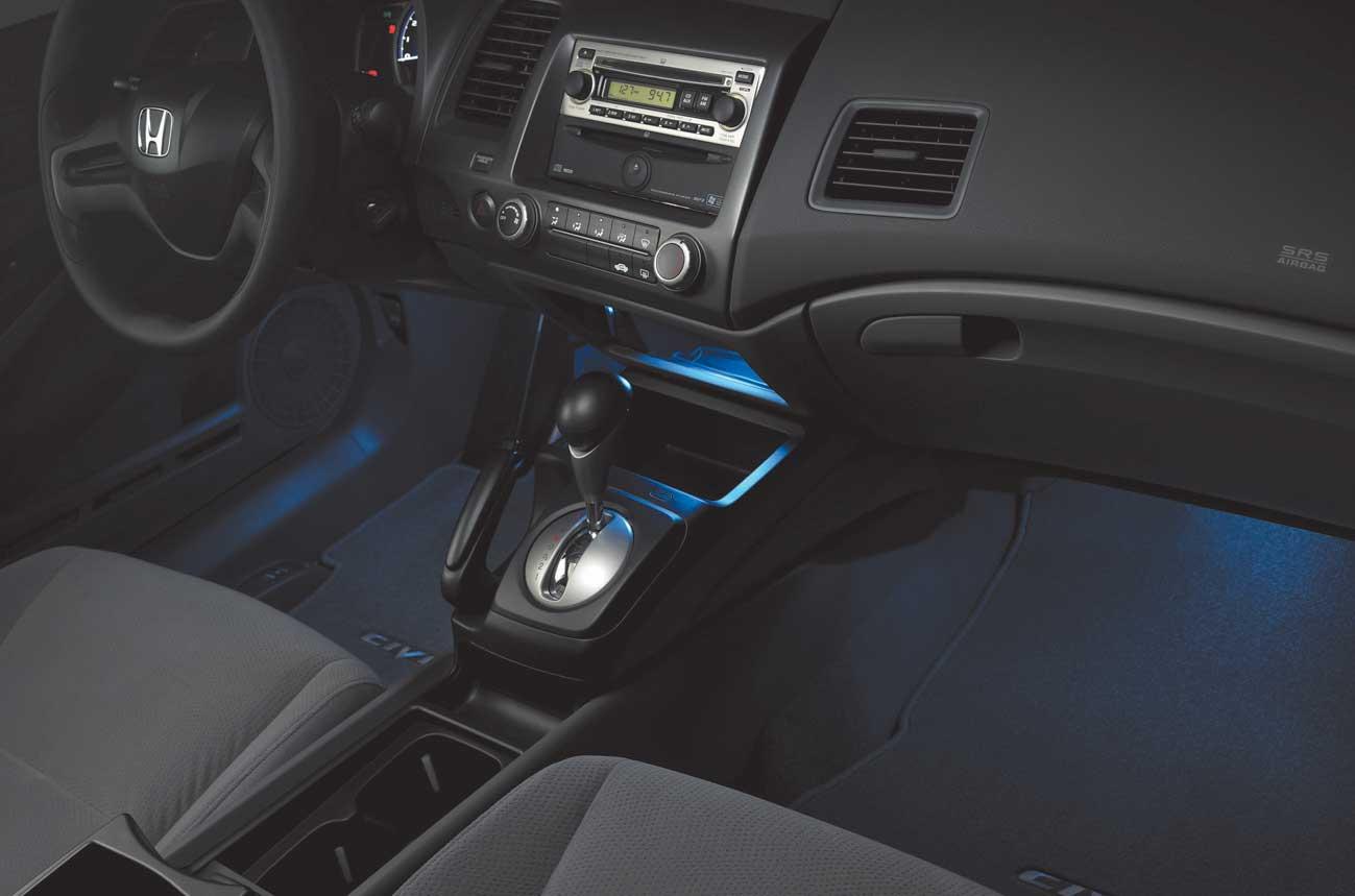 Interior Blue Led Illumination Civic