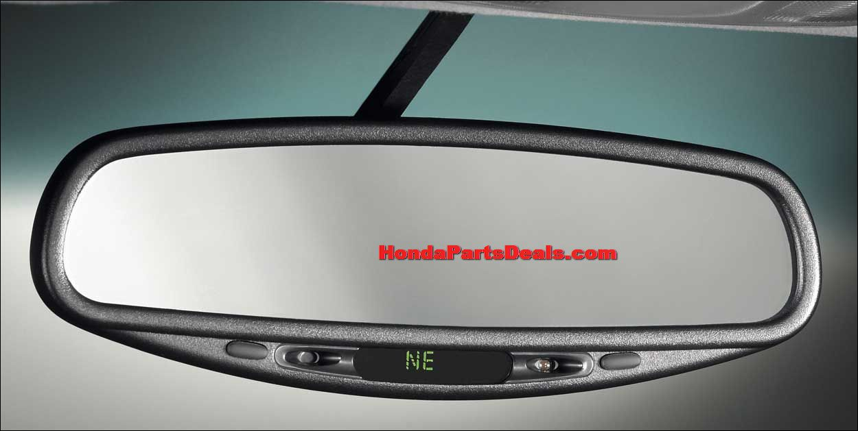 auto daynight mirror wcompass civic