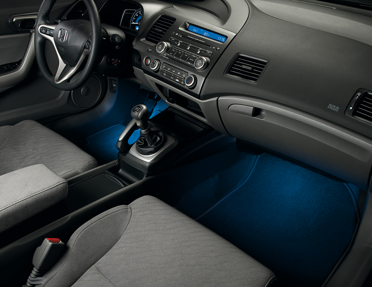Interior Illumination Civic Coupe 83 30