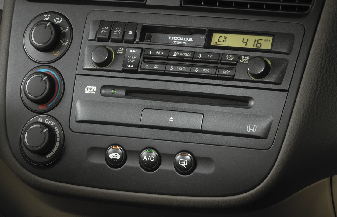 cd player civic sedan honda accessory. Black Bedroom Furniture Sets. Home Design Ideas
