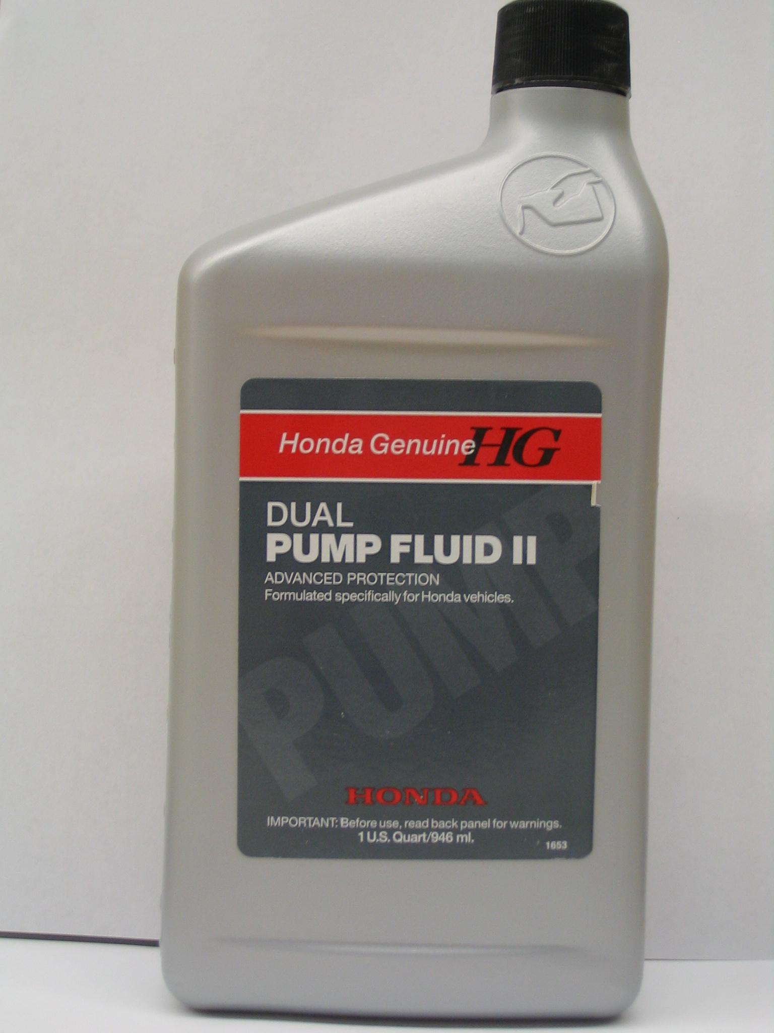 Dual Pump Fluid Ii 08200 9007 7 16