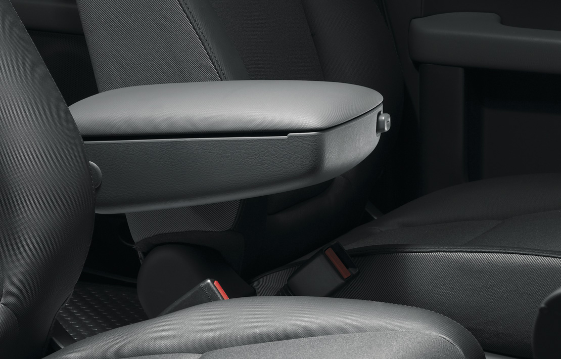 Driver's Side Armrest with Storage Element Honda Accessory ...