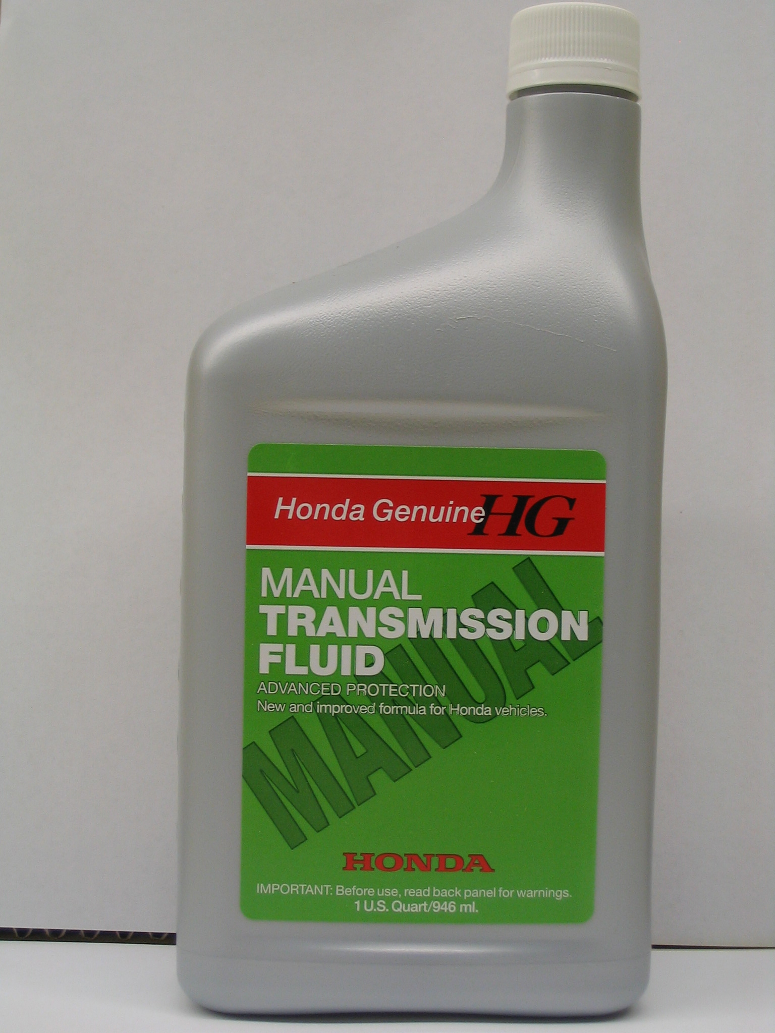 Manual Transmission Fluid Click To Enlarge