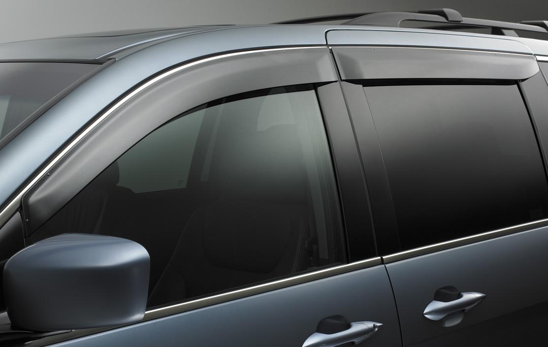 Odyssey Door Visor on Honda Part Number Catalog
