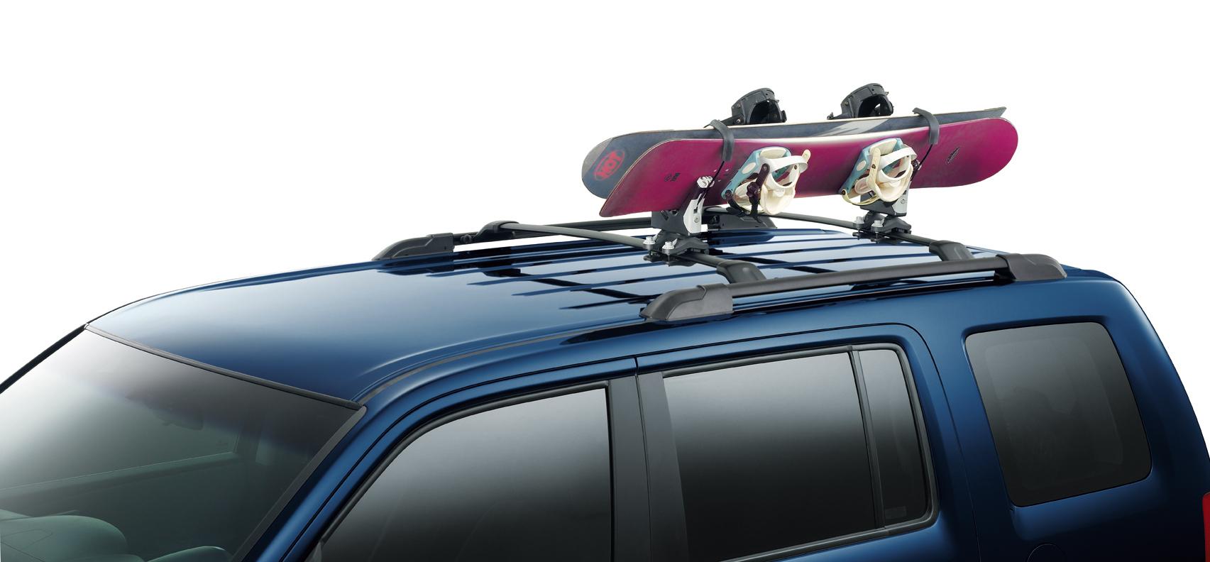 Snowboard Attachment Roof Rack Pilot 116 62