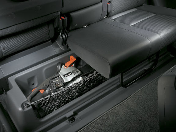rear  seat storage ridgeline honda accessory